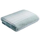 Bianca Cotton Soft Ombre Stripe Towel - Cornflower blue