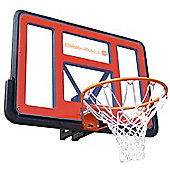 BEE BALL ZY-020 NBA Size Basketball Hoop with Backboard, Flex Ring & Net for Outdoor Use