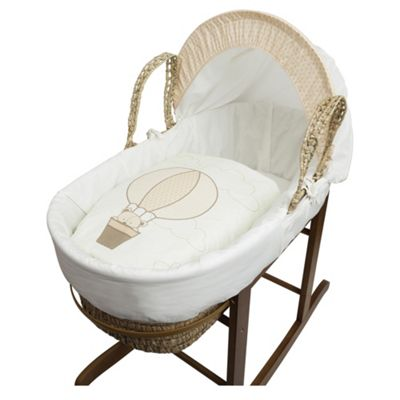 buy kinder valley teddy in balloon moses basket from our. Black Bedroom Furniture Sets. Home Design Ideas