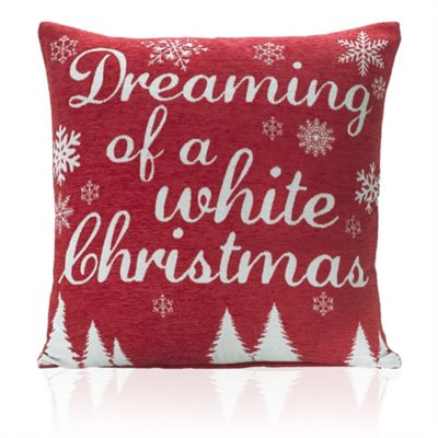 Christmas Dreaming Tapestry Cushion Cover - 46x46cm