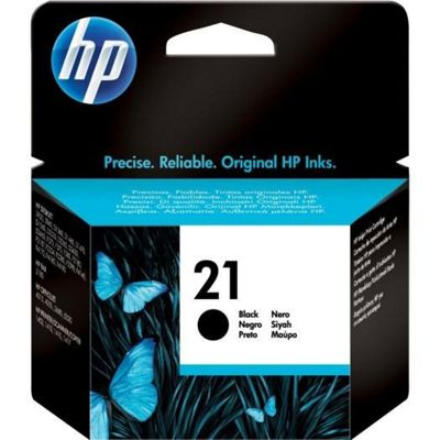 HP 21 Black Original Ink Cartridge C9351AE