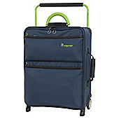 it luggage Worlds Lightest 2 Wheel Poseidon/Lime Cabin Suitcase
