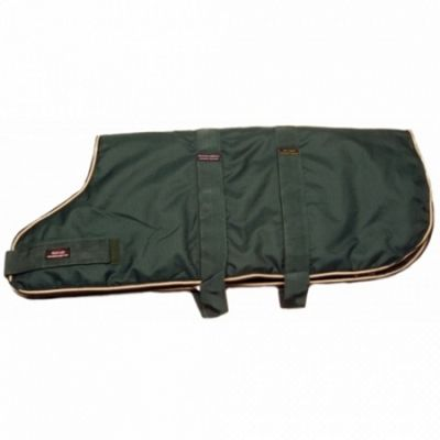 Outhwaite Waterproof Dog Coat Padded Lining - Green 55cm