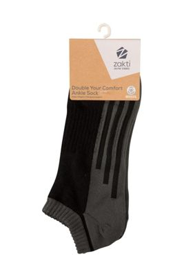 Zakti Double Your Comfort Ankle Socks