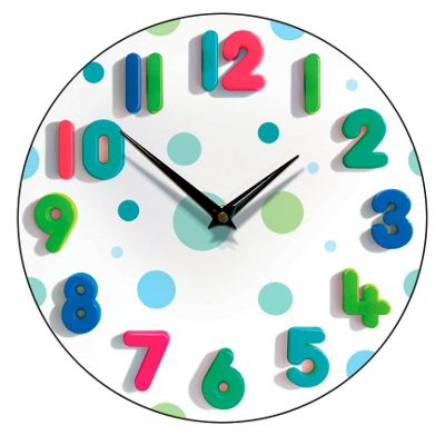 Smith & Taylor Spotty One Wall Clock