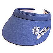 Palm Springs Lady Golf Visor - Blue