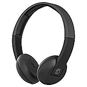 Skullcandy Uproar Wireless On Ear Headphones with TapTech Black and Grey