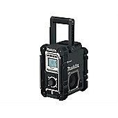 Makita DMR106B Black Job Site Radio with Bluetooth 240V & Battery Powered Bare Unit
