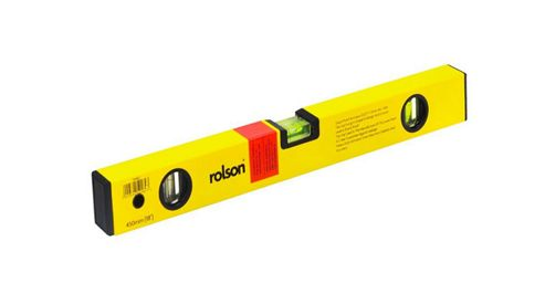 Rolson Alloy Spirit Level, 450mm