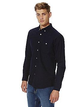 F&F Long Sleeve Oxford Shirt - Navy