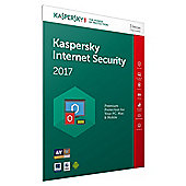 Kaspersky Internet Security 2017, 3 Devices, 1 Year (PC/MAC/Android)