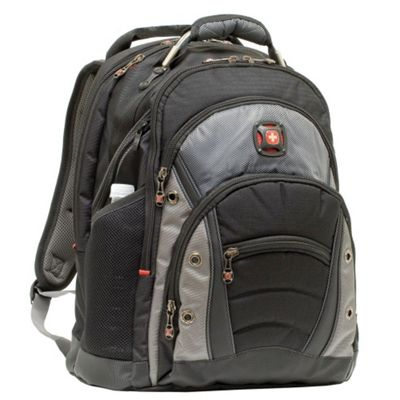 Wenger SwissGear Synergy Backpack, Black & Grey