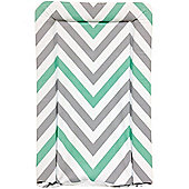 My Babiie Changing Mat (Mint Green Chevron)