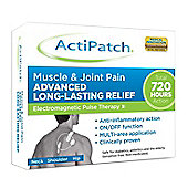 ActiPatch Muscle & Joint Pain Relief 720 Hour Electro Pulse Therapy