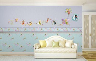 Disney Fairies Just Add Pixie Dust Self Adhesive Wallpaper Border