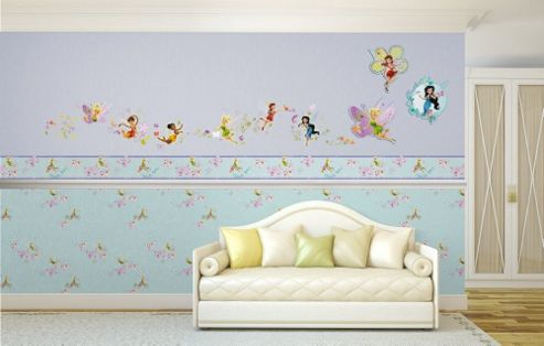 Disney Fairies Just Add Pixie Dust Self Adhesive Wallpaper Border