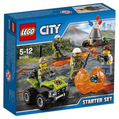 LEGO City Volcano Starter Set 60120