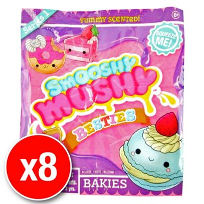 Smooshy Mushy Slow Rise Foam Besties - Bakies Blind Pack (8 packs supplied)