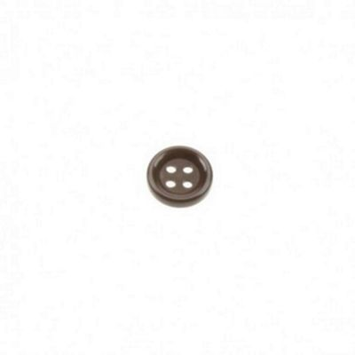 Dill Buttons 13mm Round - Brown