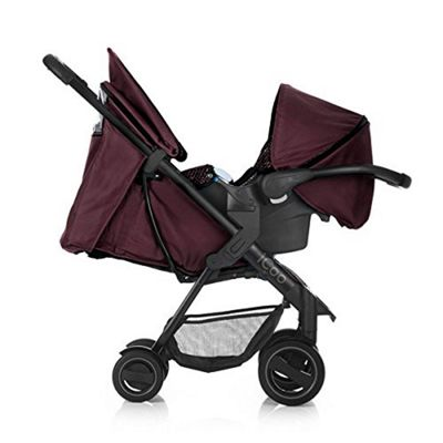 iCoo Acrobat Shop n Drive Travel System - Fishbone Bordeaux