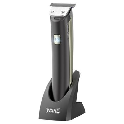 Wahl Lithium Ion Blitz Mens 3-in-1 Foil Razor and Beard Trimmer - Silver