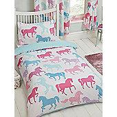 Patchwork Ponies 4 in 1 Junior Bedding Bundle Set
