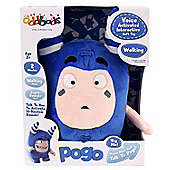 Oddbods Voice Activated Interactive Soft Toy Pogo