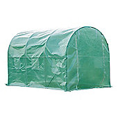 Outsunny Walk in Polytunnel Garden Greenhouse w/ Windows and Doors (3 x 2M)
