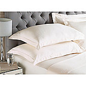 Riva Home Egyptian 400 Thread Count Oxford Pillowcase - Natural