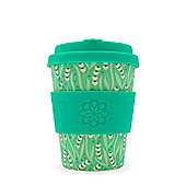 Ecoffee Cup Amstel with Green Silicone 12oz