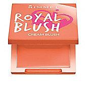 Rimmel London Royal Blush Cream To Powder Cream Blush 3.5g-001 Peach Jewel