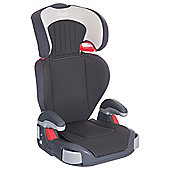 Graco Junior High Back Booster Car Seat without harness, Group 2-3, Dove Grey