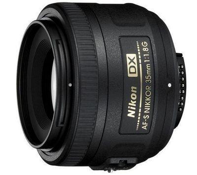 AF-S DX Nikkor 35 mm. f/1.8 G lens.