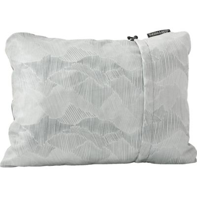 Therm-A-Rest Compressible Pillow Grey, Large (58cm x 41cm)