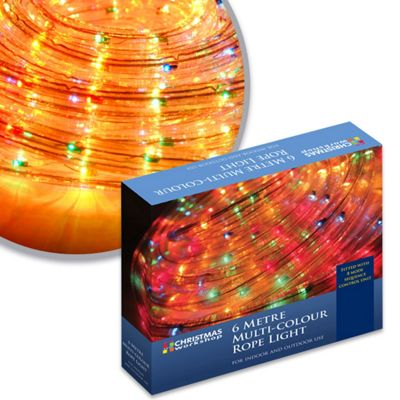 Buy ultra bright led chaser rope lights 6m from our all christmas ultra bright led chaser rope lights 6m aloadofball Choice Image