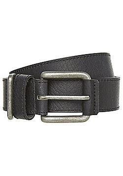 F&F Casual Leather Belt - Black