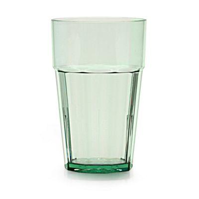 Clarity 16 oz Diamond Tumbler - Green (8 Pack)