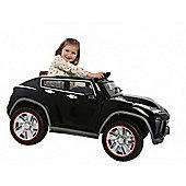 12V Ride On SUV Twin Car Black