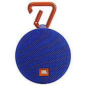 JBL Clip 2 Waterproof Ultra-Portable Bluetooth Speaker - Blue