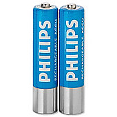 Philips AAA NiMH Rechargeable Batteries