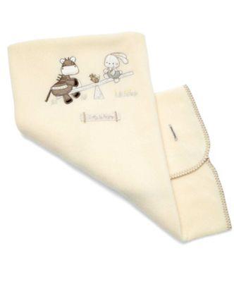 Mamas & Papas - Zeddy & Parsnip - Small Fleece Blanket