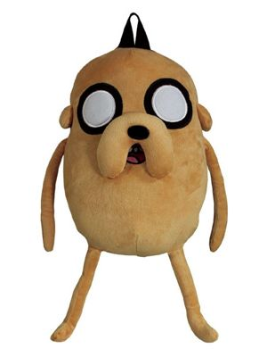 Adventure Time Jake Plush Tan Backpack
