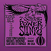Ernie Ball Slinky Gauge-7 String Power Slinky 11-58