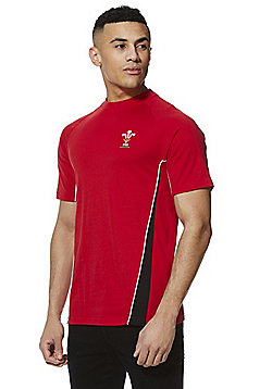 Welsh Rugby Union Crew Neck Short Sleeve T-Shirt - Red