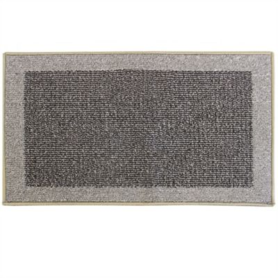 Madras Black/Grey Doormat 40x70cm