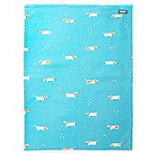 Dexam Single Tea Towel, Patch the Dog