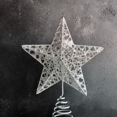 White Star Tree Topper