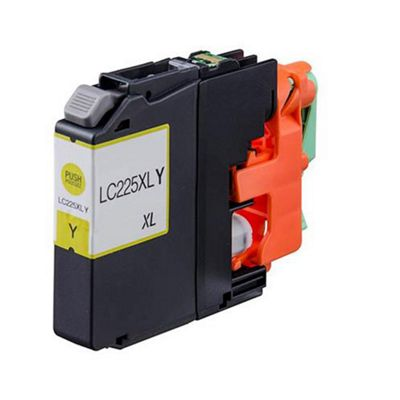 Brother LC225XLY Yellow Compatible High Capacity Ink Cartridge