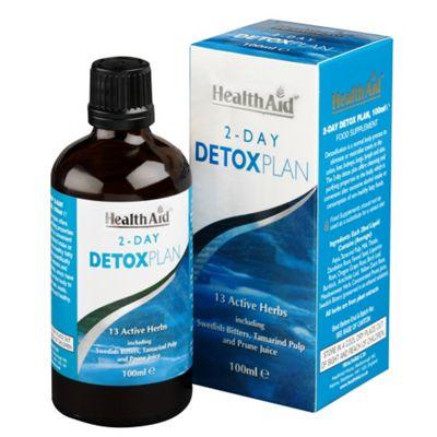 Health Aid 2-Day Detox Plan 100ml Liquid