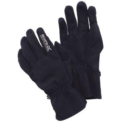 Regatta Mens X-ert Softshell Gloves Black XL
